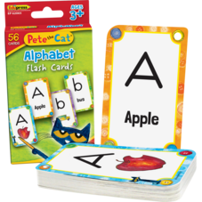 Pete the Cat® Alphabet Flash Cards