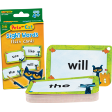 Pete the Cat® Sight Words Flash Cards