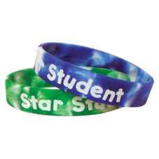 Fancy Star Student Wristbands