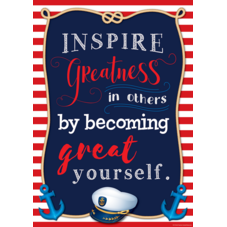 Inspire Greatness in Others by Becoming Great Yourself Positive Poster