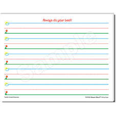 Smart Start K-1 Writing Paper: 100 Sheets
