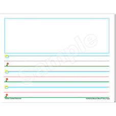 Smart Start K-1 Story Paper: 40 Sheet Tablet