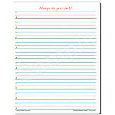 Smart Start 1-2 Writing Paper: 40 Sheet Tablet