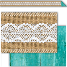 Shabby Chic Double-Sided Border