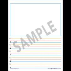 Superhero Smart Start 1-2 Story Paper: 100 Sheets