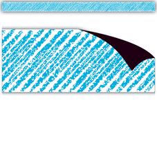 Aqua Scribble Magnetic Border