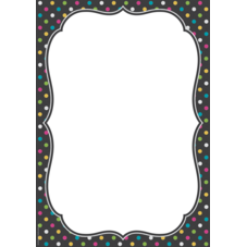Clingy Thingies Chalkboard Brights Large Note Sheet