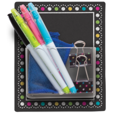 Clingy Thingies Chalkboard Brights Storage Pocket