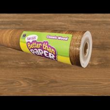 Fun Size Classic Wood Better Than Paper Bulletin Board Roll