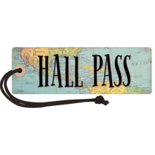 Travel the Map Magnetic Hall Pass