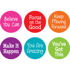 """Spot On Carpet Markers Positive Sayings - 7"""""""