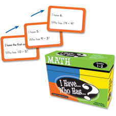 I Have, Who Has Math Game Grade 1-2