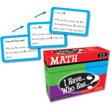 I Have, Who Has Math Game Grade 2-3