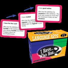I Have, Who Has Language Arts Game Grade 5-6