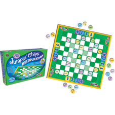 Jumpin Chips: Multiplication Game