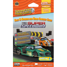 Super Speedway Computer Game CD Grade 4-5