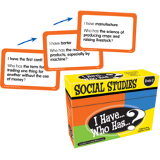 I Have, Who Has Social Studies Game Grade 2
