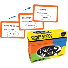 I Have, Who Has Sight Words Game Grade 2