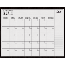 Modern Farmhouse Calendar Write-On/Wipe-Off Chart