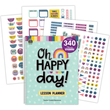Oh Happy Day Lesson Planner