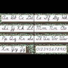 Eucalyptus Cursive Mini Bulletin Board