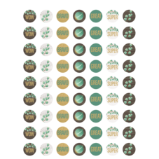 Eucalyptus Mini Stickers