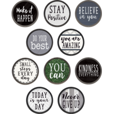 Modern Farmhouse Positive Sayings Accents