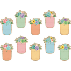 Rustic Bloom Mason Jars Accents