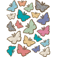 Home Sweet Classroom Butterflies Stickers
