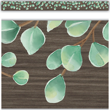 Eucalyptus Straight Border Trim