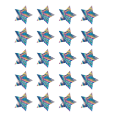Iridescent Stars Stickers