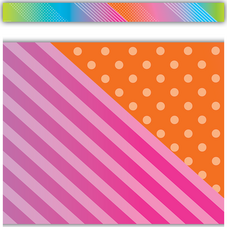 Colorful Vibes Straight Border Trim