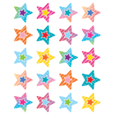 Colorful Vibes Stars Stickers
