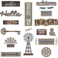 Home Sweet Classroom Wall Decor Bulletin Board Display Set