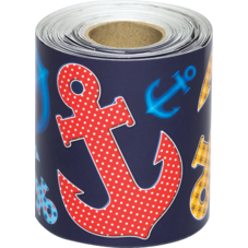 Anchors Straight Rolled Border Trim