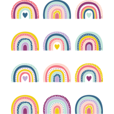 Oh Happy Day Rainbows Mini Accents