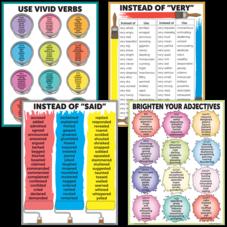 Brighten Vocabulary Poster Set