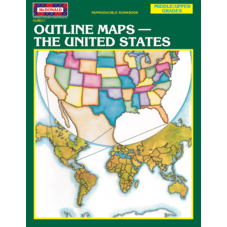 Outline Maps: The United States Reproducible Workbook