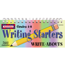 Writing Starters Write-Abouts Grades 4-8