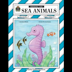 TCR0254 Sea Animals Thematic Unit Image