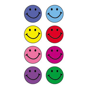 TCR1236 Happy Faces Mini Stickers Image