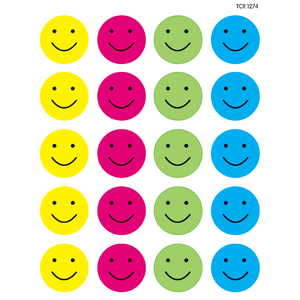 TCR1274 Happy Faces Stickers Image