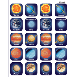 TCR1800 Planets Stickers Image
