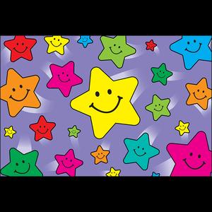 TCR1972 Happy Stars Postcards Image