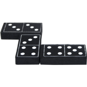TCR20601 Foam Dominoes: Black Image