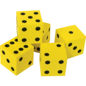 TCR20603 Foam Traditional Dice Image