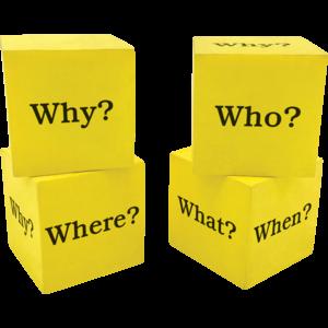 TCR20614 Foam Question Cubes Image