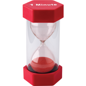 TCR20657 1 Minute Sand Timer-Large Image