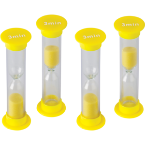 TCR20661 3 Minute Sand Timers-Small Image