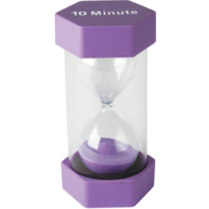 TCR20675 10 Minute Sand Timer-Large Image